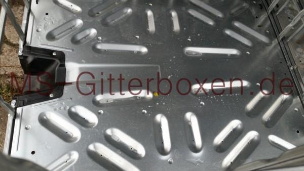 IBC GB 1000L Stahl-PE Palette Neuwertig